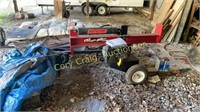 Swisher Log Splitter 11.5 HP 28 Ton Splitting