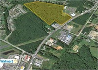 Real Estate Auction for 30.81± Acre Commercial Site
