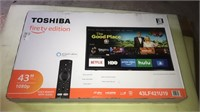 Toshiba 43 inch Smart flat screen TV