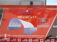 NEW 40'x40' Container Shelter