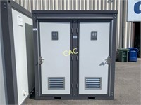 NEW Double Mobile Toilets