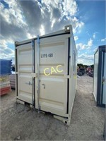 NEW 8' Container w/Walk Thru Door & Window