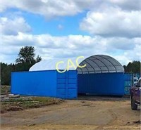 NEW 20'x40' Container Shelter