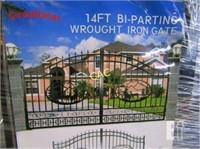 NEW 14' Bi-Parting Gates