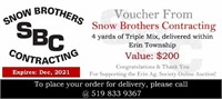 4 yards Triple Mix  - Snow Brothers