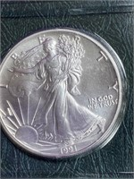 1991 - SILVER AMERICAN EAGLE DILLAR (36)