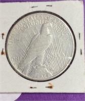 "1926 ""S"" - PEACE SILVER DOLLAR (33)"