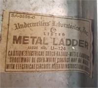 815 - TALL METAL LADDER