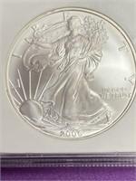 "2006 ""MS69"" - SILVER AMERICAN EAGLE DILLAR (20)"