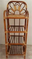 814 - WOOD PLANT STAND