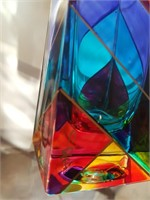814 - MURANO GLASS BUD VASE