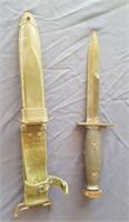815 - KNIFE W/BELT SHEATH (80)