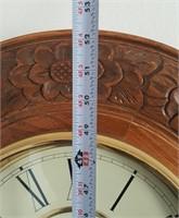 814 - REGULATOR WALL CLOCK