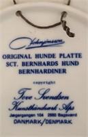 814 - LTD ED 4 ROCKWELL PLATES; HUNDE PLATTES (4)
