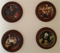 814 - LOT OF 4 ROCKWELL COLLECTOR PLATES