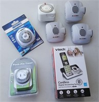 815 - CORDLESS PHONE, TIMERS
