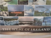 "814 - ""THE WEST OF IRELAND"" TRAVEL POSTER"