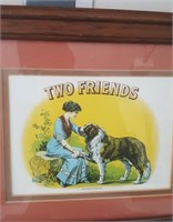"815 - POCKET KNIVES, DUCK PRINTS, ""TWO FRIENDS"" AR"