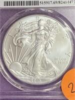 2013 - S SILVER EAGLE MS69 DOLLAR (27)