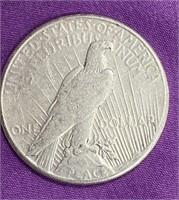 "1922 ""S"" - PEACE SILVER DOLLAR (35)"