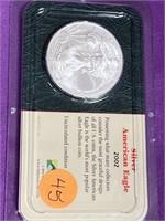 2002 - SILVER AMERICAN EAGLE DILLAR (45)