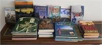 814 - LOT OF HARDBACK BOOKS