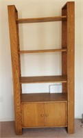 814 - TALL SHELF/ENTERTAINMENT UNIT