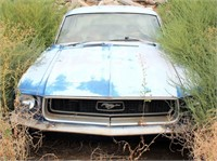 1968 Ford Mustang (no title/parts car) view 2