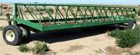 S.I. Feeders Round Bale Feeder on Wheels (view 2)