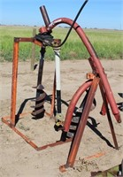 Post Hole Digger, 3-pt, pto, 2-augers