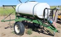 Field Sprayer w/Tank & Booms