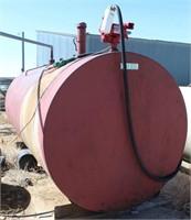 Fuel Tank, 2000-gal w/elec pump