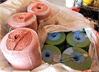 Several Rolls of Bailing Twine