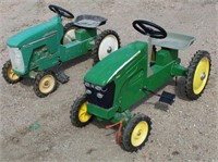(2) JD Childs Pedal Tractors