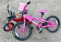 Bike w/Training Wheels, Youth Bike