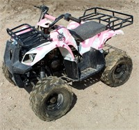Youth 4-Wheeler, pink camo,125cc (made in China)