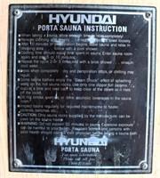 Hyundai Portable Sauna (view 2)