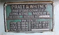 Pratt & Whitney Metal Lathe (view 3)