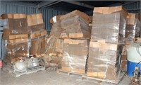 Misc Produce Boxes, various type/sizes, all in bundles