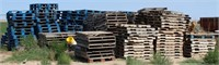 100's of Wooden Pallets