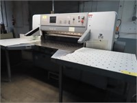 "1999 Polar Mohr 54"" Paper Cutter Model 137ED"