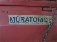 Muratori MZ6 185pt Rototiller 6'