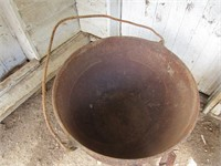 Butcher Kettle on Stand