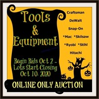 TOOLs Auction October