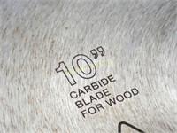 """10"""" & 8 1/4"""" Saw Blades"""