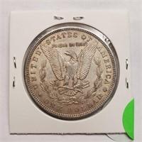1884 - MORGAN SILVER DOLLAR (4)