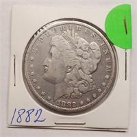 1882 - MORGAN SILVER DOLLAR (1)