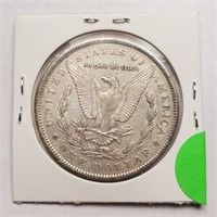 1891 - MORGAN SILVER DOLLAR (19)