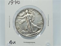 LARGE ONLINE THREE PARTY OCTOBER COIN AUCTION