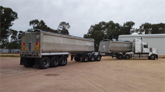 2009 Muscat B-Double Combo Aluminium - Trailers for Sale